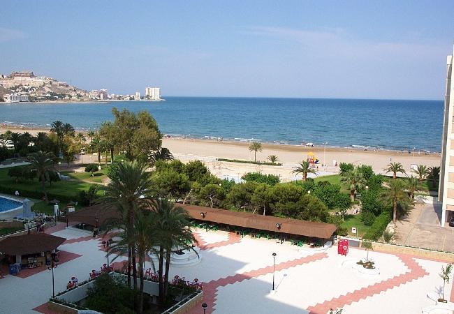 Estudio en Cullera - Estudio con piscina a0 mde la playa
