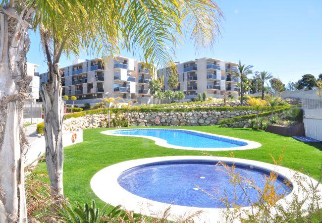 Apartamento en Salou - Apartamento con piscina a800 mde la playa