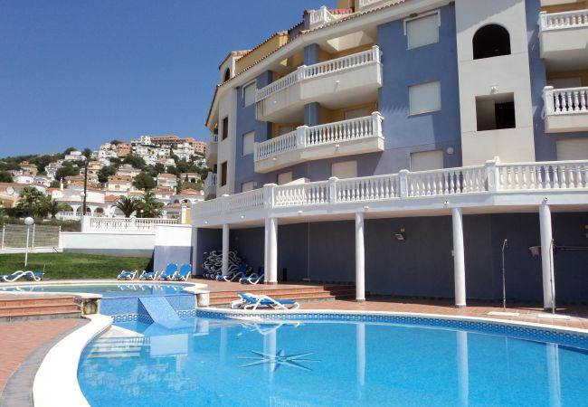 Apartamento en Alcoceber / Alcossebre - Apartamento de 1 dormitorios a1 kmde la playa
