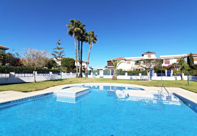 Apartamento en Vera playa - Apartamento con piscina a200 mde la playa