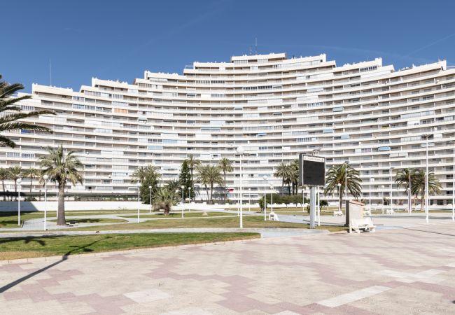 Apartamento en Cullera - Apartamento de 1 dormitorios a0 mde la playa