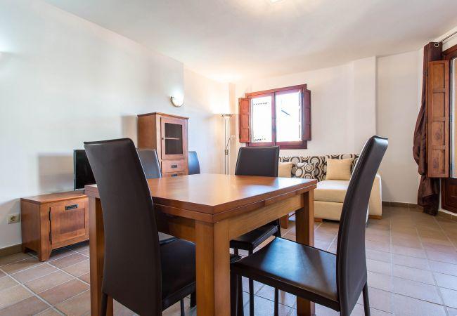 Comedor del apartamento en Torrevieja