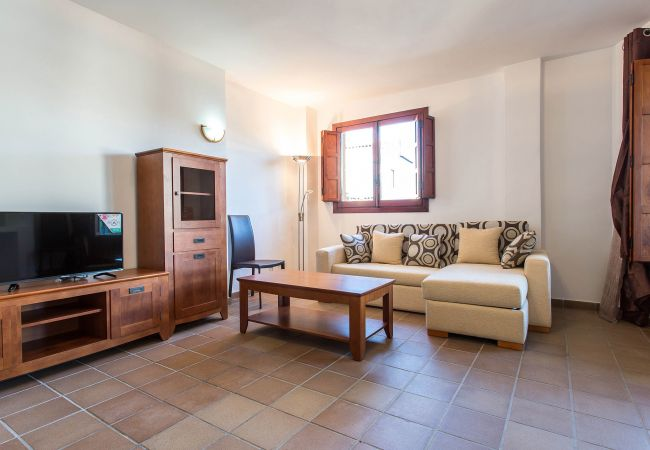 Salón del apartamento en Torrevieja.