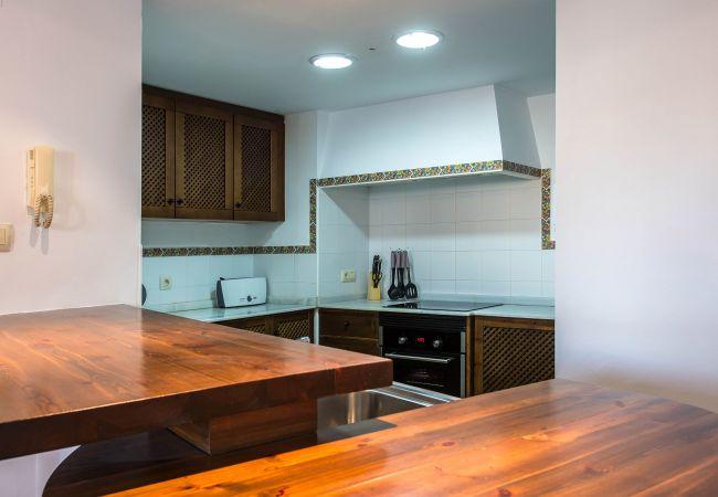 Cocina Americana del apartamento en Torrevieja