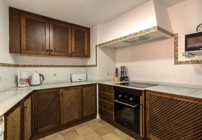 Cocina del apartamento en Torrevieja