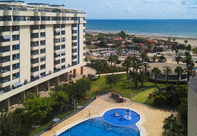 Apartamento en Alboraya - Apartamento con piscina a750 mde la playa