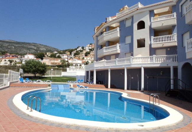 in Alcoceber / Alcossebre - Apartment with swimming pool in Alcoceber / Alcossebre