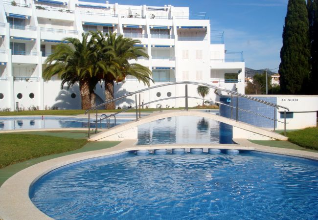 in Alcoceber / Alcossebre - Apartment with swimming pool to250 mbeach