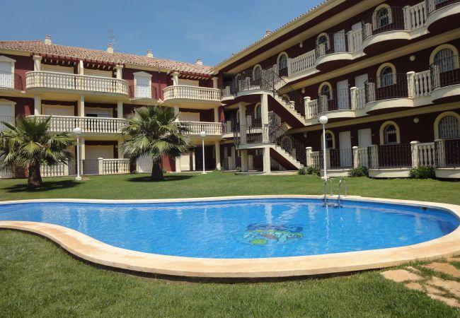 à Alcoceber / Alcossebre - Appartement avec piscine à Alcoceber / Alcossebre