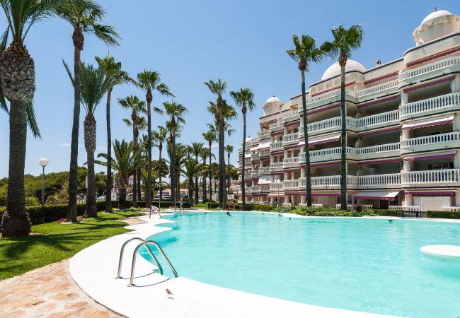 à Alcoceber / Alcossebre - Appartement avec 3 chambres à50 mde la plage